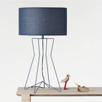 Gig Navy Table Lamp