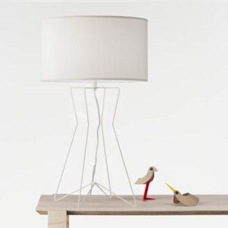 Gig White Table Lamp