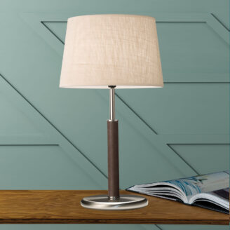 Hamilton Table Lamp Chocolate