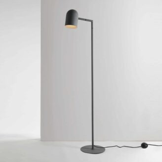 Pia Charcoal Floor Lamp