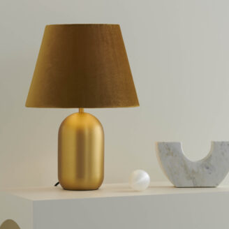 Misty Gold Table Lamp