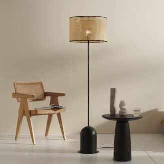 Kimi Black Floor Lamp