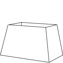 tapered rectangle