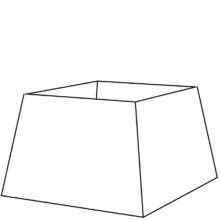 tapered square